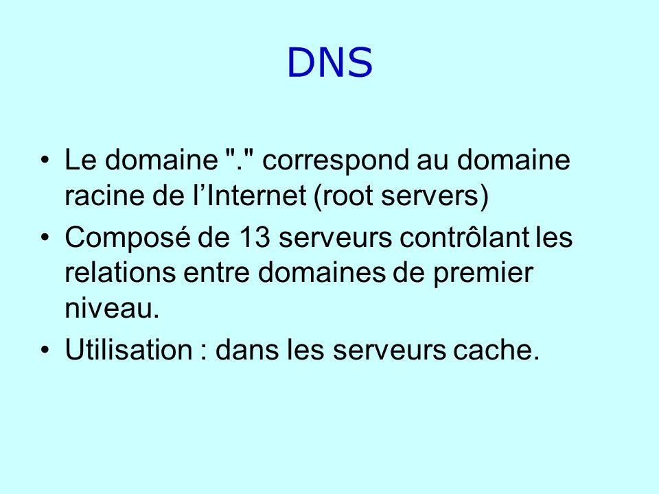 DNS Le domaine