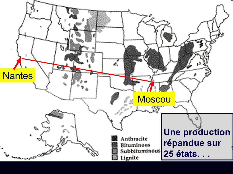 Nantes Moscou Une production répandue sur 25 états...