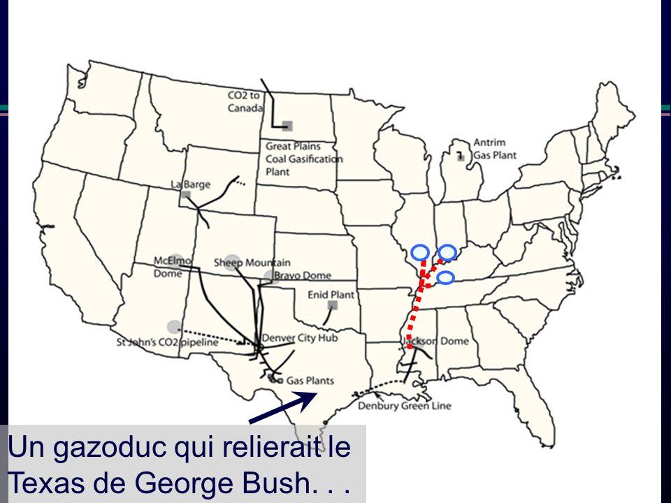 Denbury Un gazoduc qui relierait le Texas de George Bush...