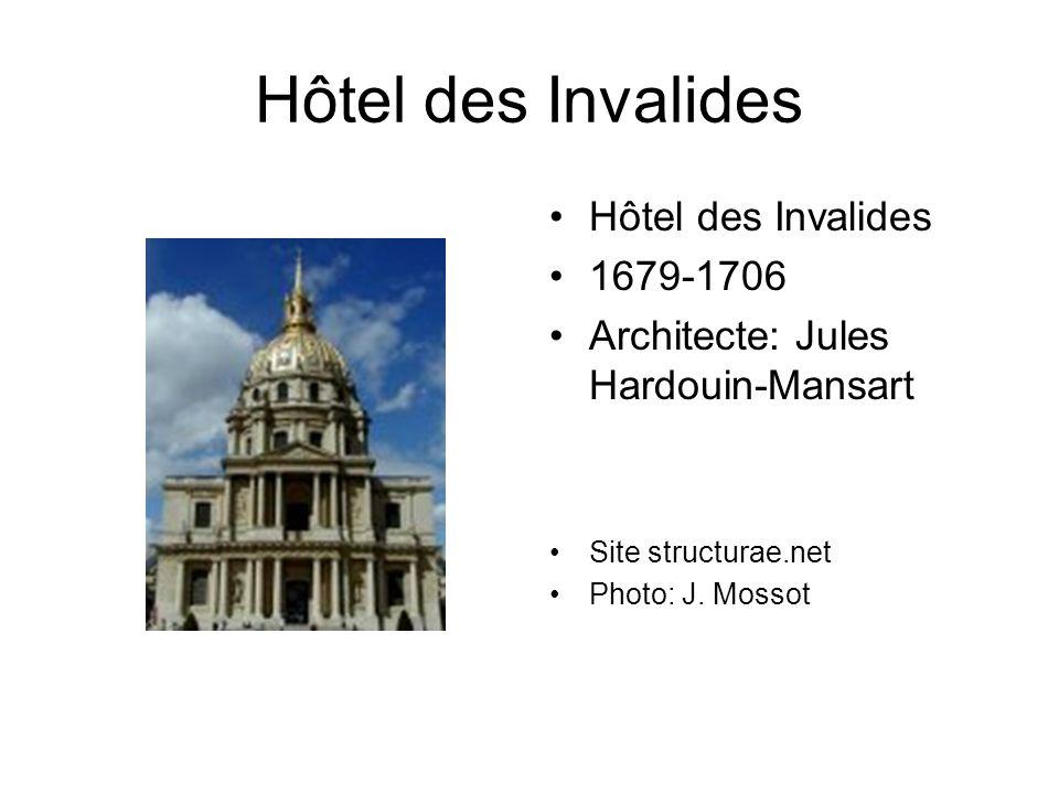 Jacques-Germain Soufflot Le Panthéon, à Paris (Ancienne Église Ste-Geneviève) Admis à la Villa Médicis, Soufflot étudiera les monuments antiques de Rome entre 1731 et 1738.