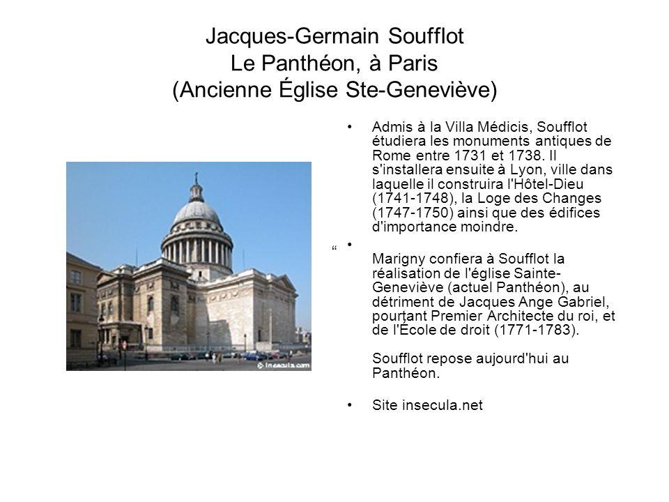 Rotonde de Chartres 1788 Rotonde de Chartres 8e arrondissement à Paris Architecte: Claude- Nicolas Ledoux Site structurae