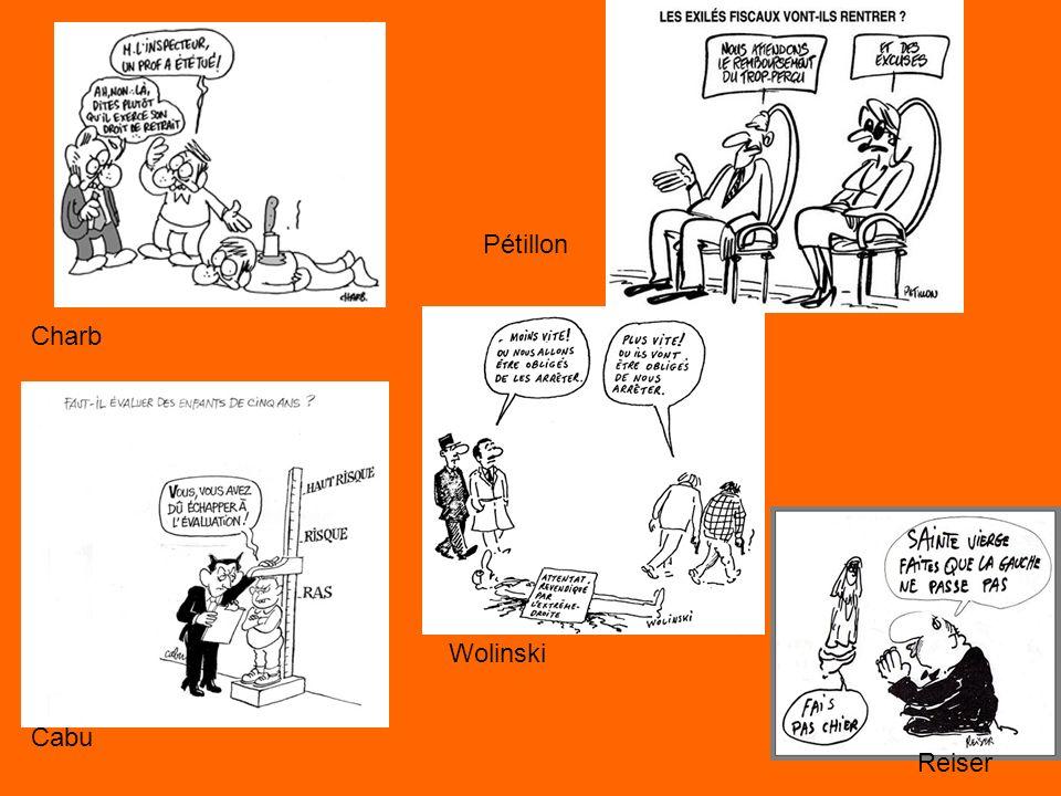 Cabu Charb Pétillon Reiser Wolinski