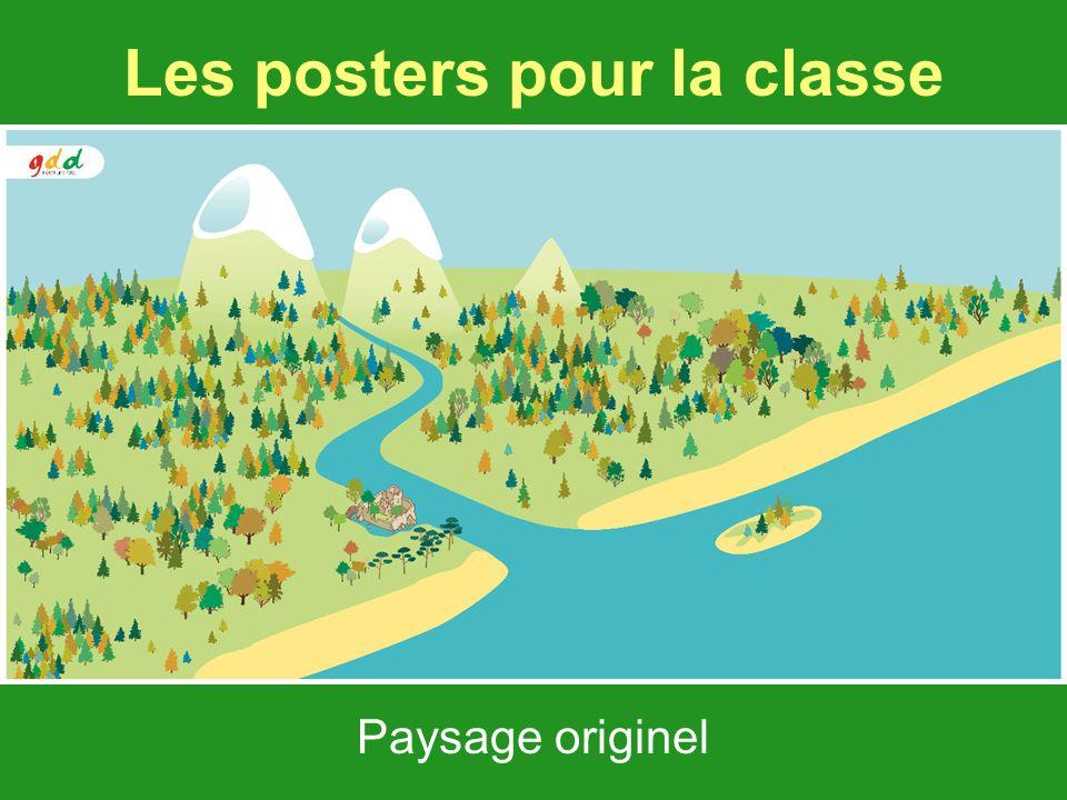 Les posters pour la classe Paysage originel