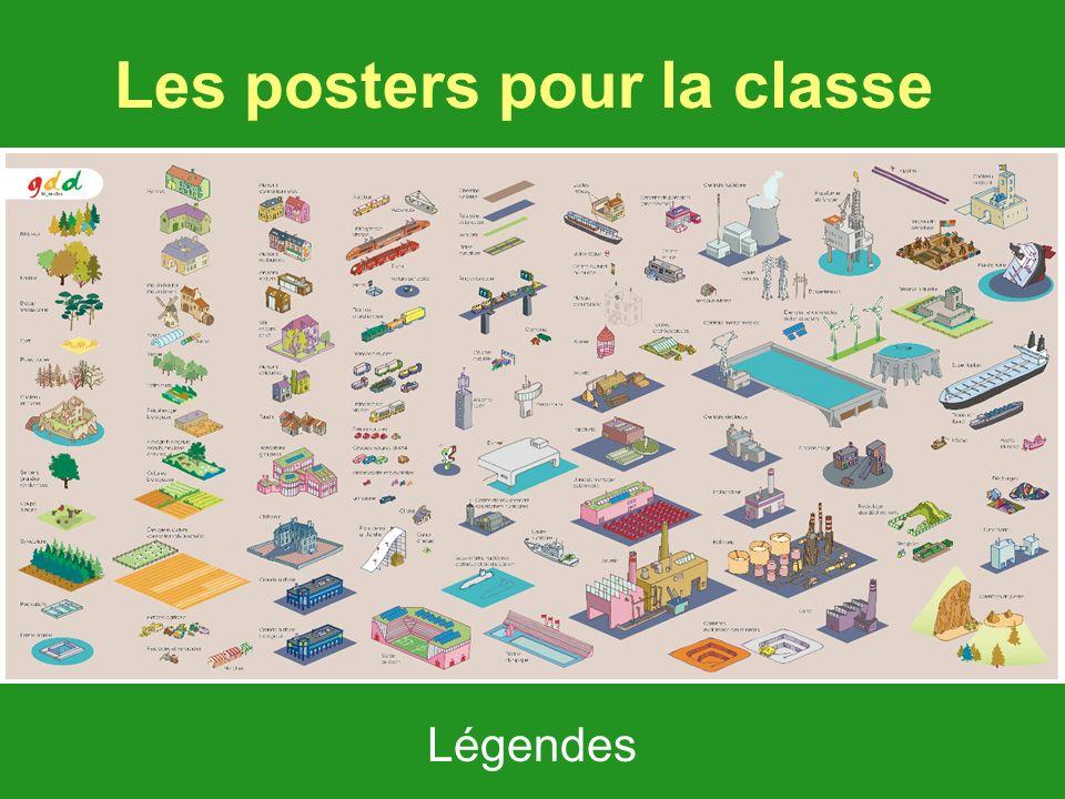 Les posters pour la classe Le poster du paysage originel Le poster légende Légendes