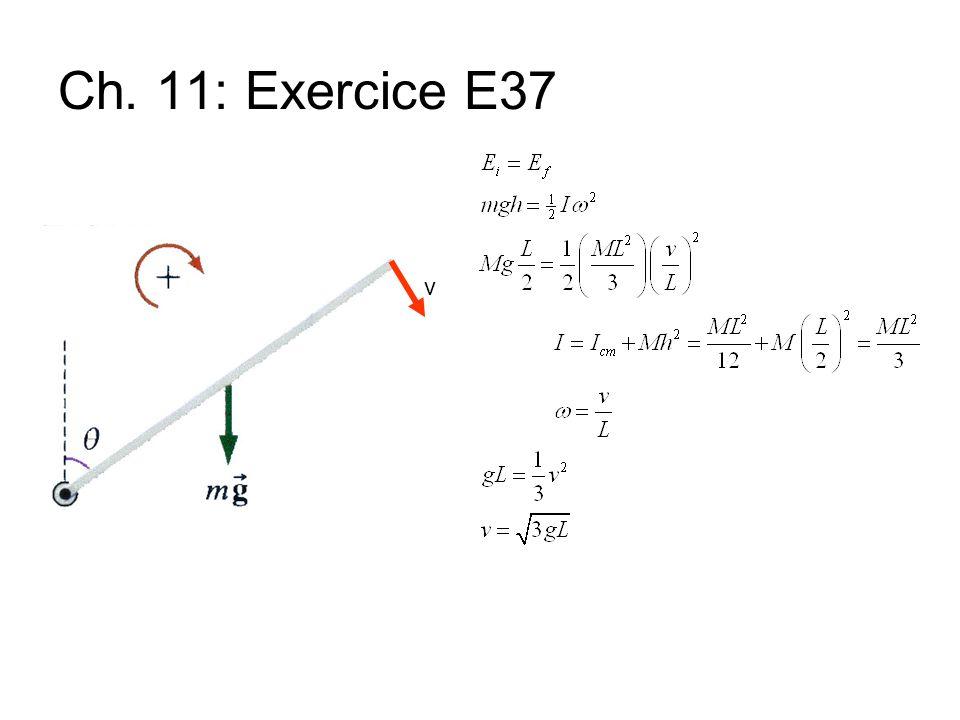 Ch. 11: Exercice E37 v
