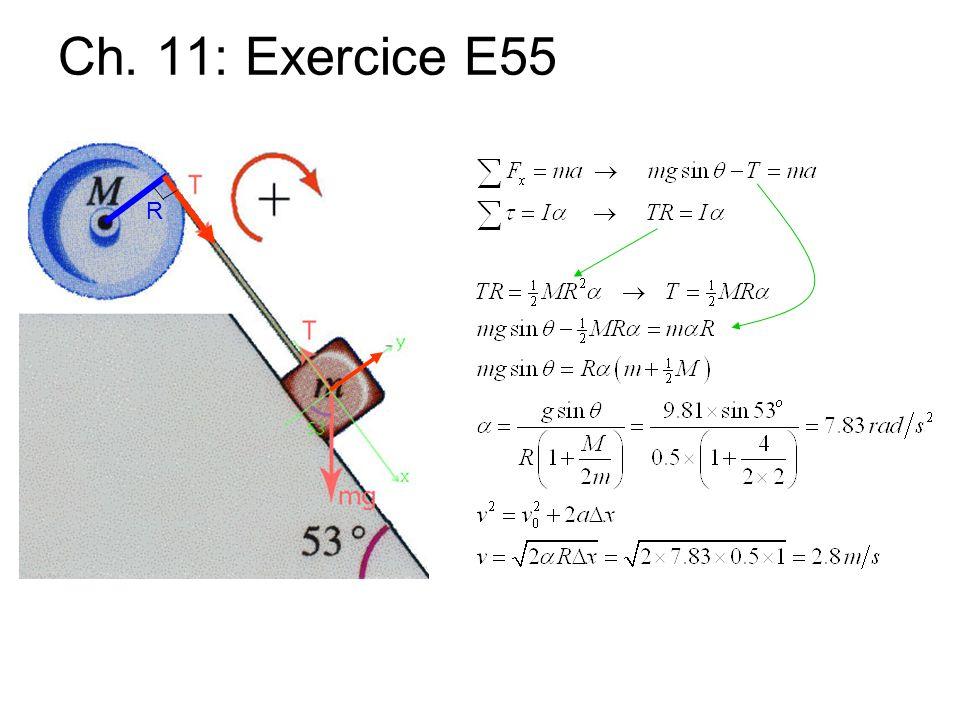 Ch. 11: Exercice E55 R