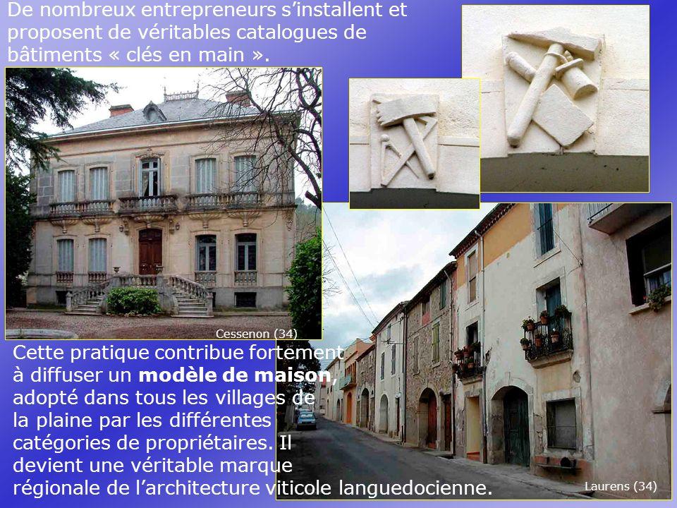 Cette pratique contribue fortement à diffuser un modèle de maison, adopté dans tous les villages de la plaine par les différentes catégories de propriétaires.