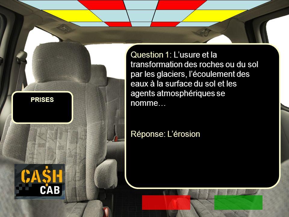 PRISES Question 2: Comment peut-on éviter lérosion.