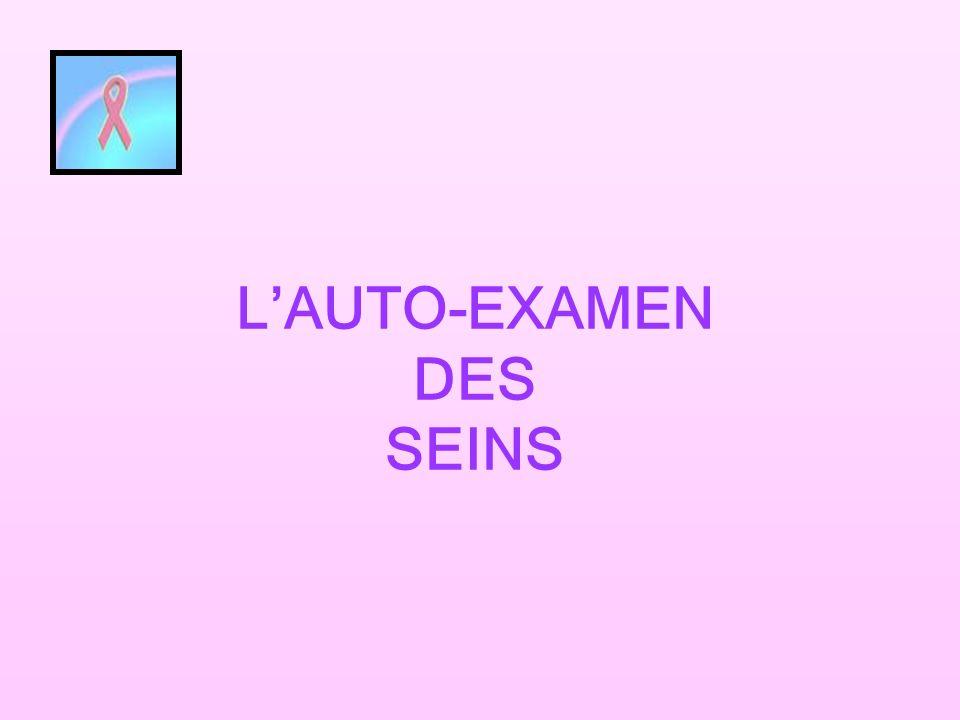 LAUTO-EXAMEN DES SEINS