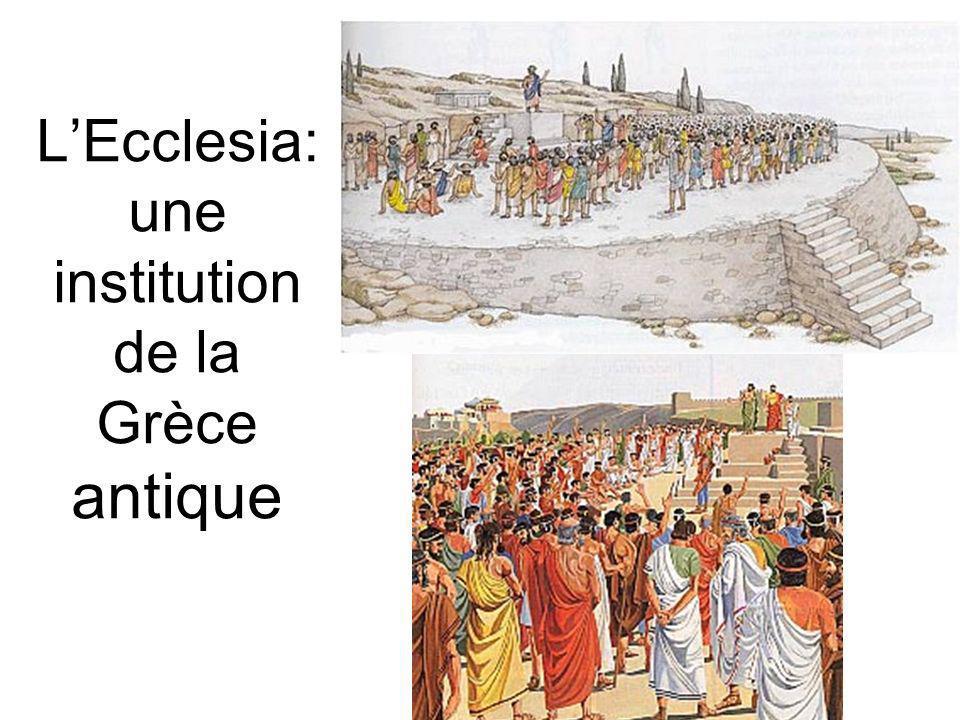 LEcclesia: une institution de la Grèce antique
