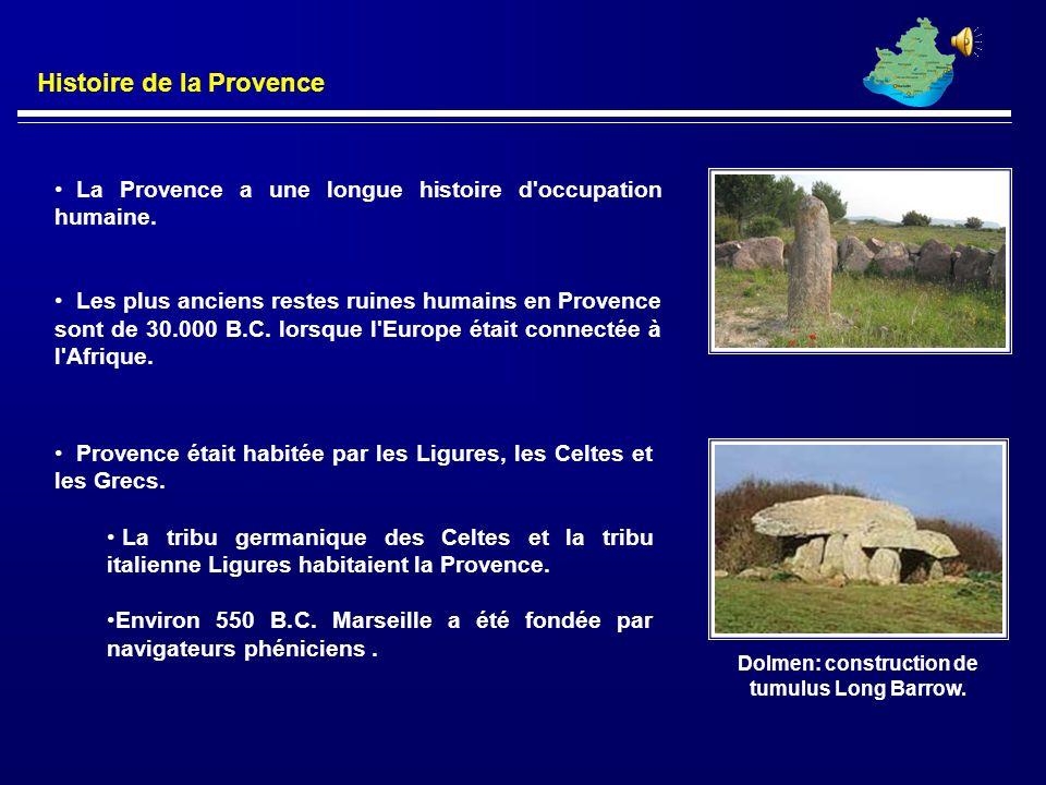 La Provence est une région historique en France. AIX-EN-PROVENCE était sa capitale. La région est maintenant divisée en départements. Histoire de la P