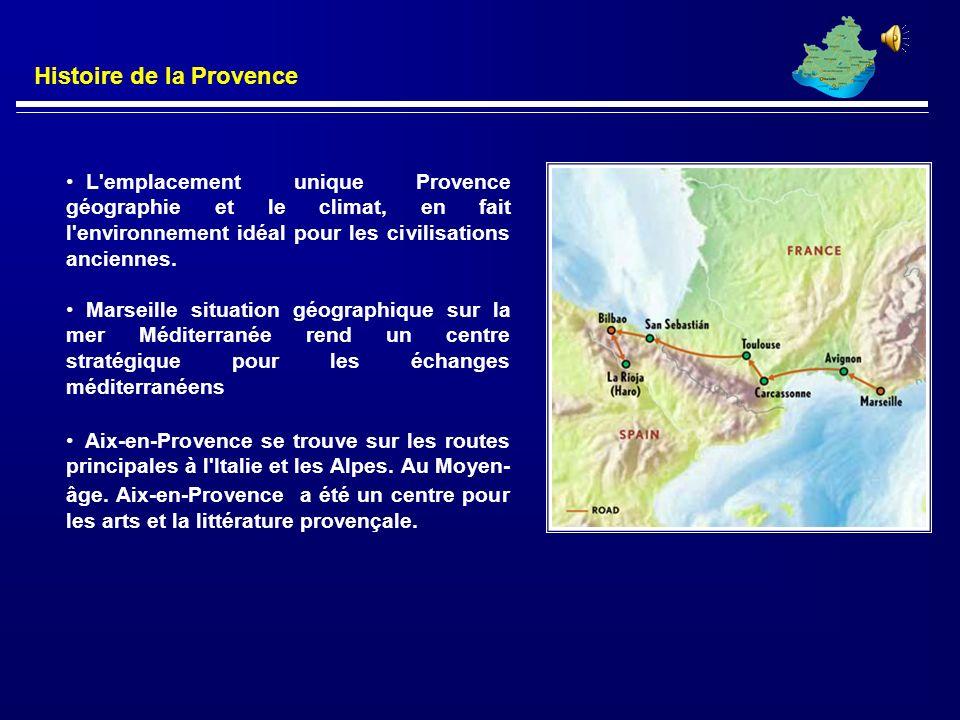 Moyen Âge Le Royaume de la Provence passe de main en main jusqu'à ce que le 11ème siècle, quand il a été incorporé dans le Saint Empire Romain Cest en