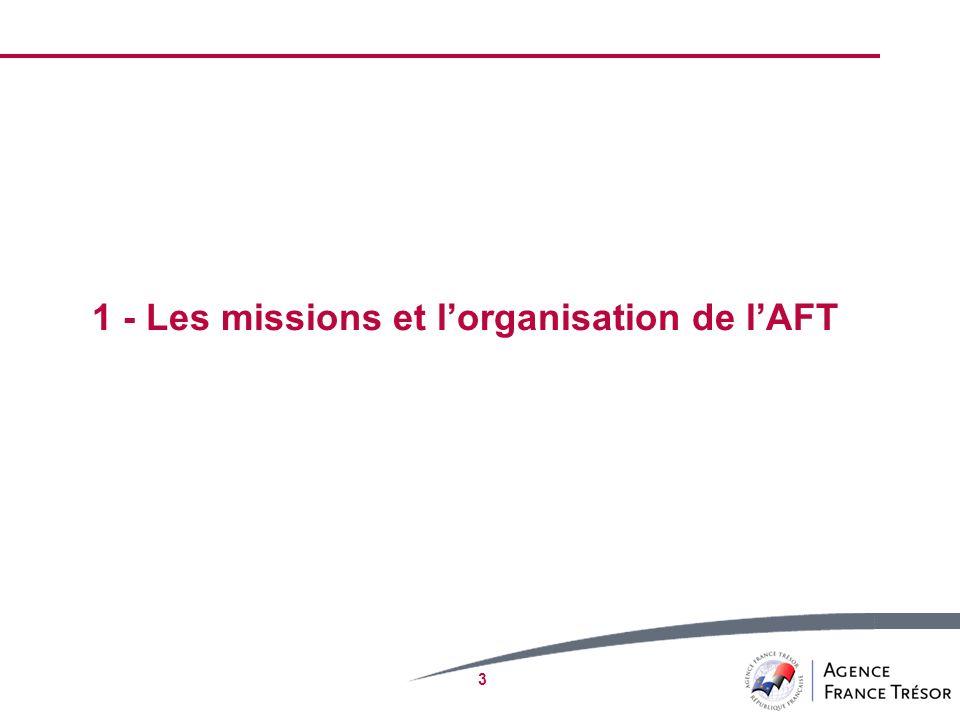 3 1 - Les missions et lorganisation de lAFT