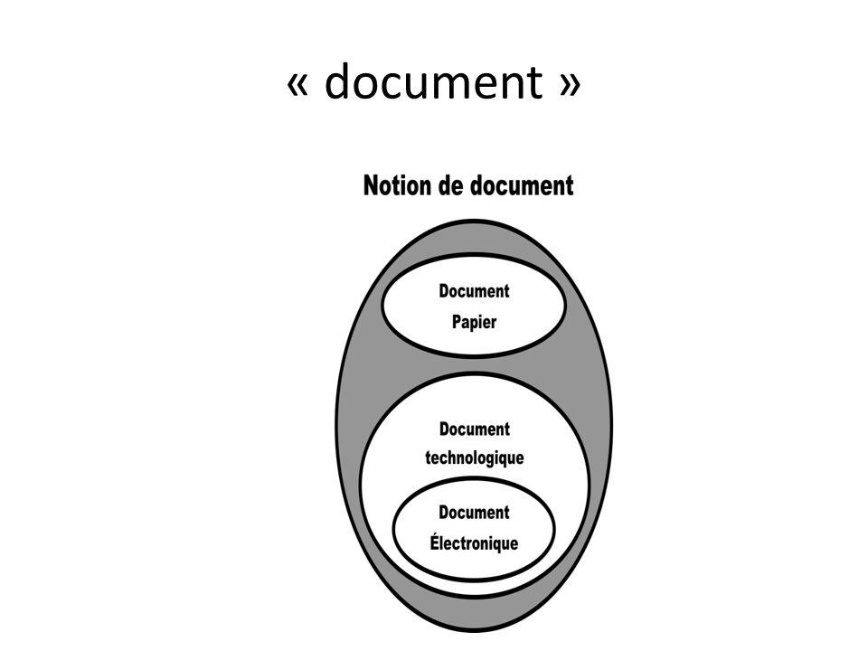 « document »