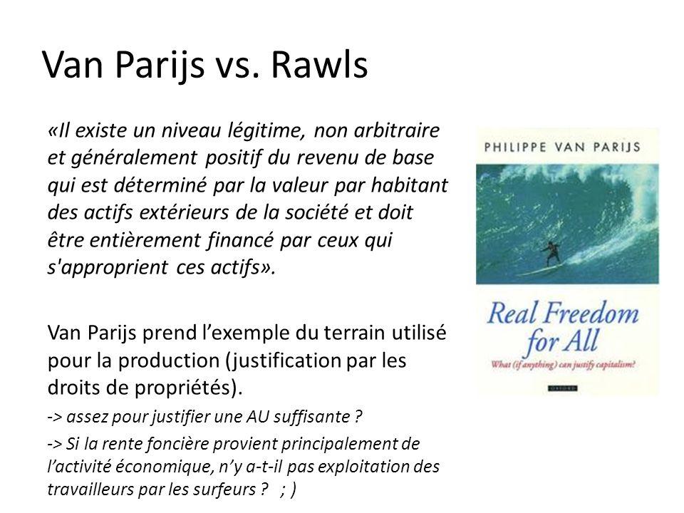 Van Parijs vs.