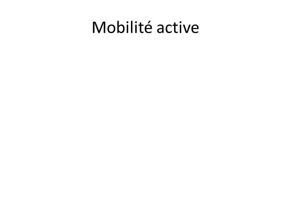 Mobilité active