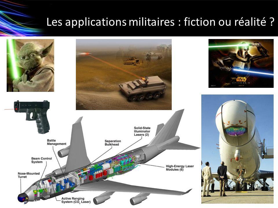 Les applications militaires : fiction ou réalité ?