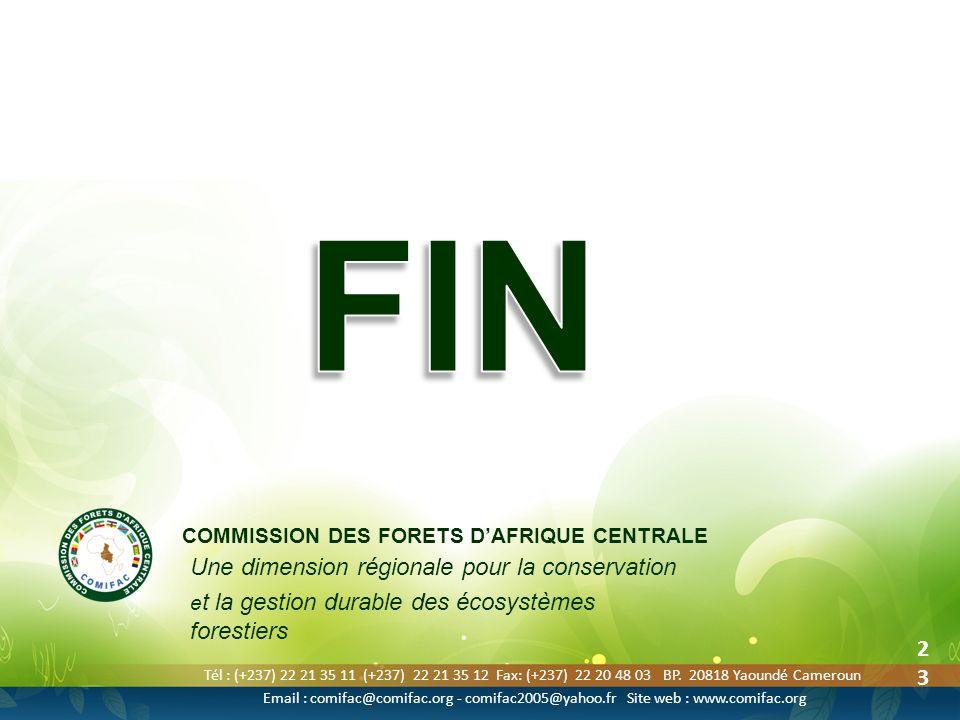 Tél : (+237) 22 21 35 11 (+237) 22 21 35 12 Fax: (+237) 22 20 48 03 BP. 20818 Yaoundé Cameroun Email : comifac@comifac.org - comifac2005@yahoo.fr Site