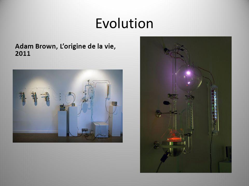Evolution Adam Brown, Lorigine de la vie, 2011