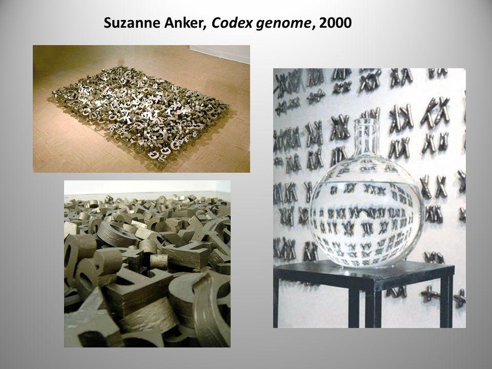 Suzanne Anker, Codex genome, 2000
