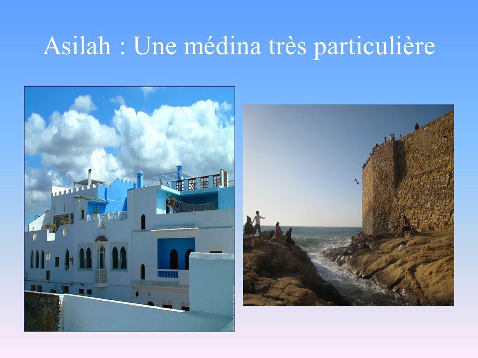 Asilah : Une médina très particulière