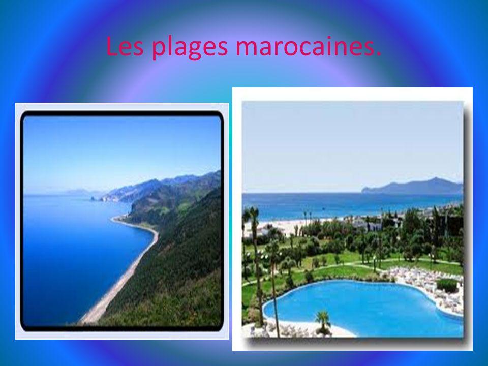 Les plages marocaines.