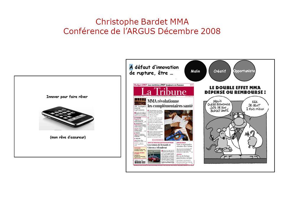 Christophe Bardet MMA Conférence de lARGUS Décembre 2008