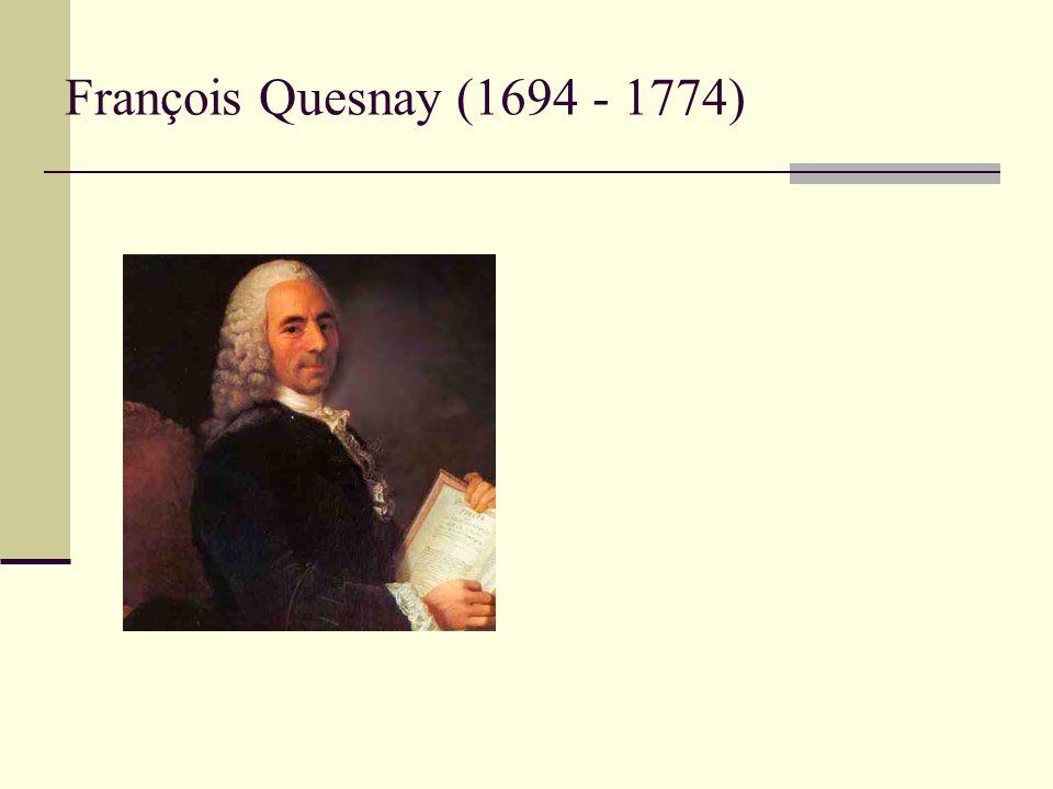 François Quesnay (1694 - 1774)