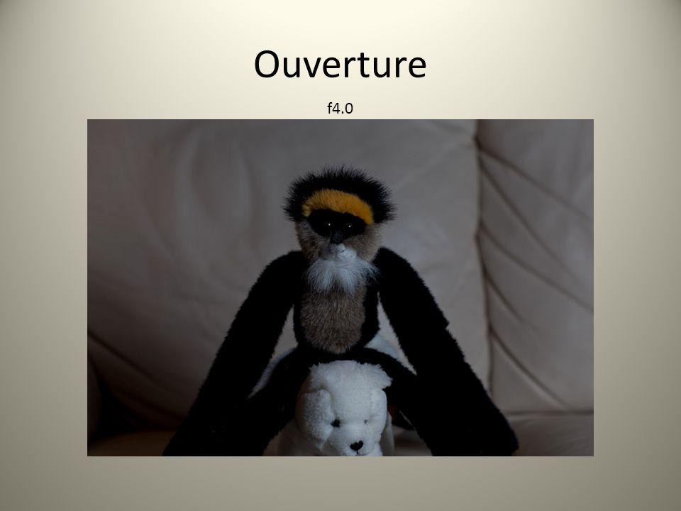 Ouverture f4.0
