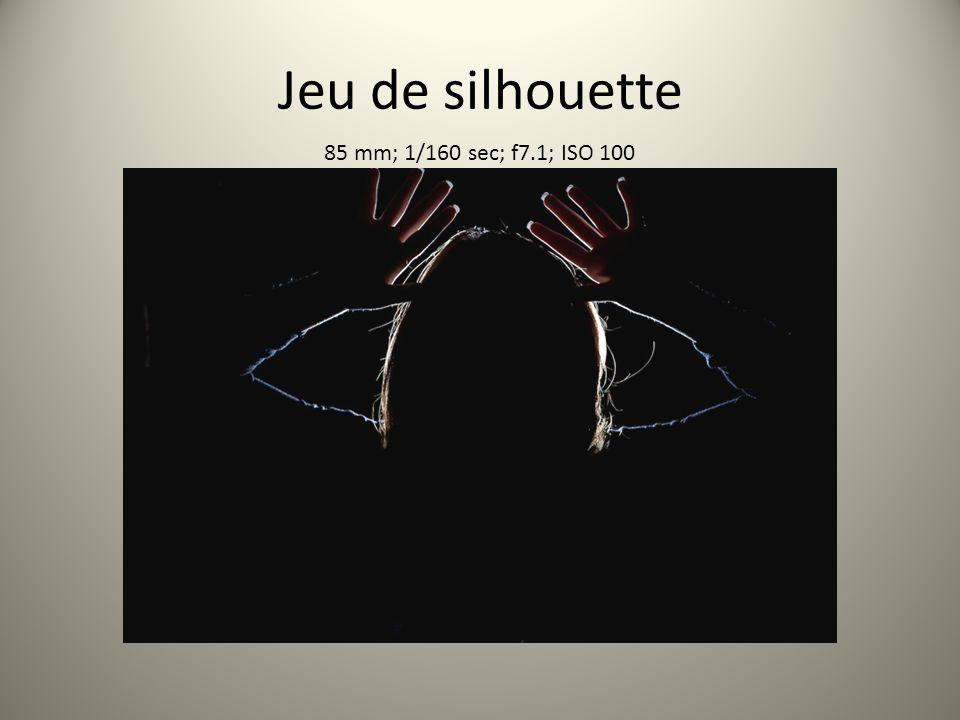 Jeu de silhouette 85 mm; 1/160 sec; f7.1; ISO 100