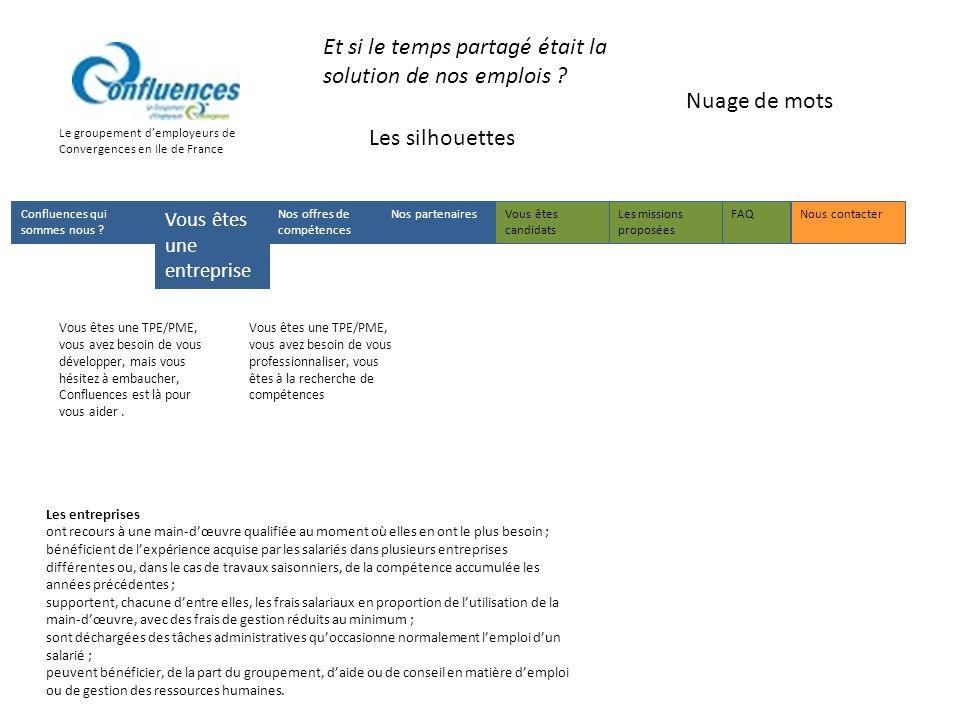 Le groupement demployeurs de Convergences en Ile de France Et si le temps partagé était la solution de nos emplois .