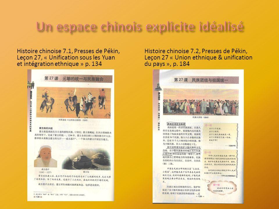 Histoire chinoise 7.1, Presses de Pékin, Leçon 27, « Unification sous les Yuan et intégration ethnique » p.