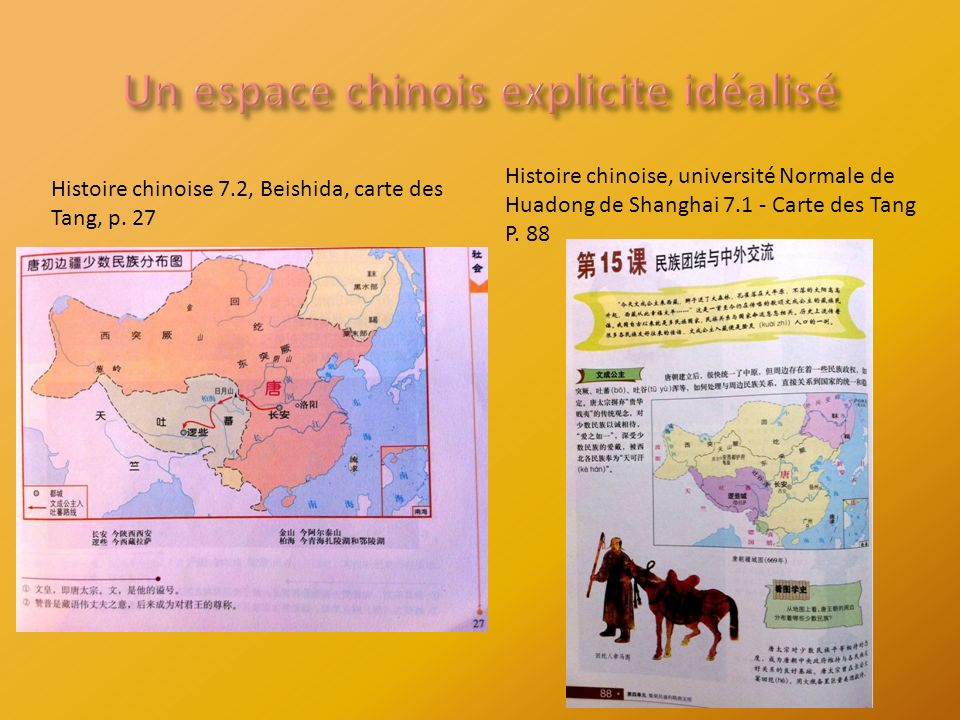 Histoire chinoise 7.2, Beishida, carte des Tang, p.