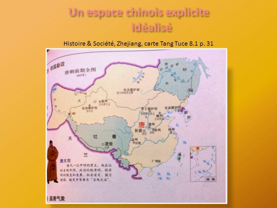 Histoire & Société, Zhejiang, carte Tang Tuce 8.1 p. 31