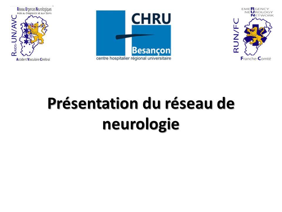 Présentation du réseau de neurologie