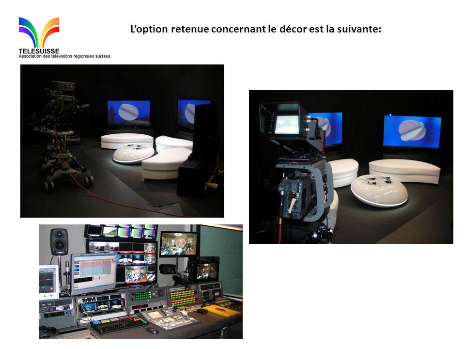 A prévoir avant de faire une émission : -Les TVs sont reliées à un lecteur DVD.