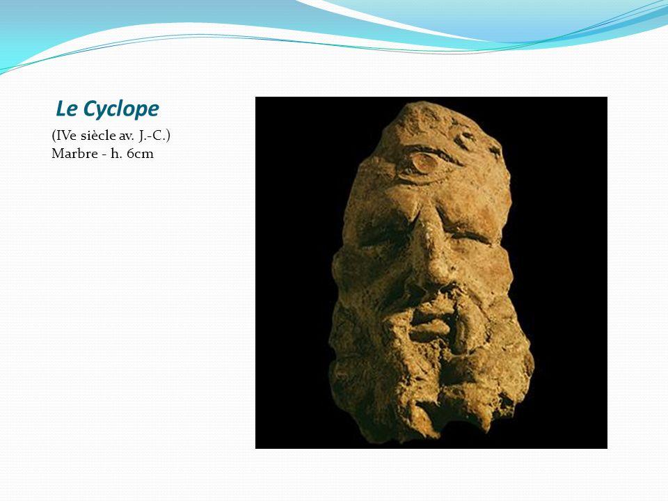 Ulysse et ses compagnons aveuglant le Cyclope Œnochoé à figures noires, v.