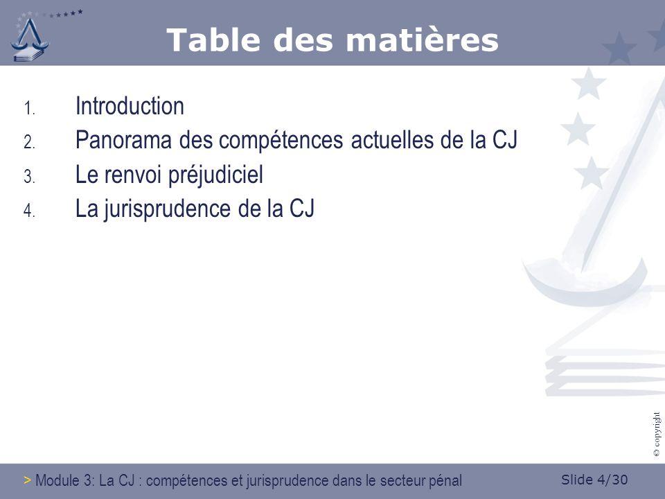 Slide 25/30 © copyright 3.Le renvoi préjudiciel 3.5.