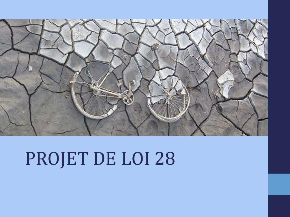 PROJET DE LOI 28