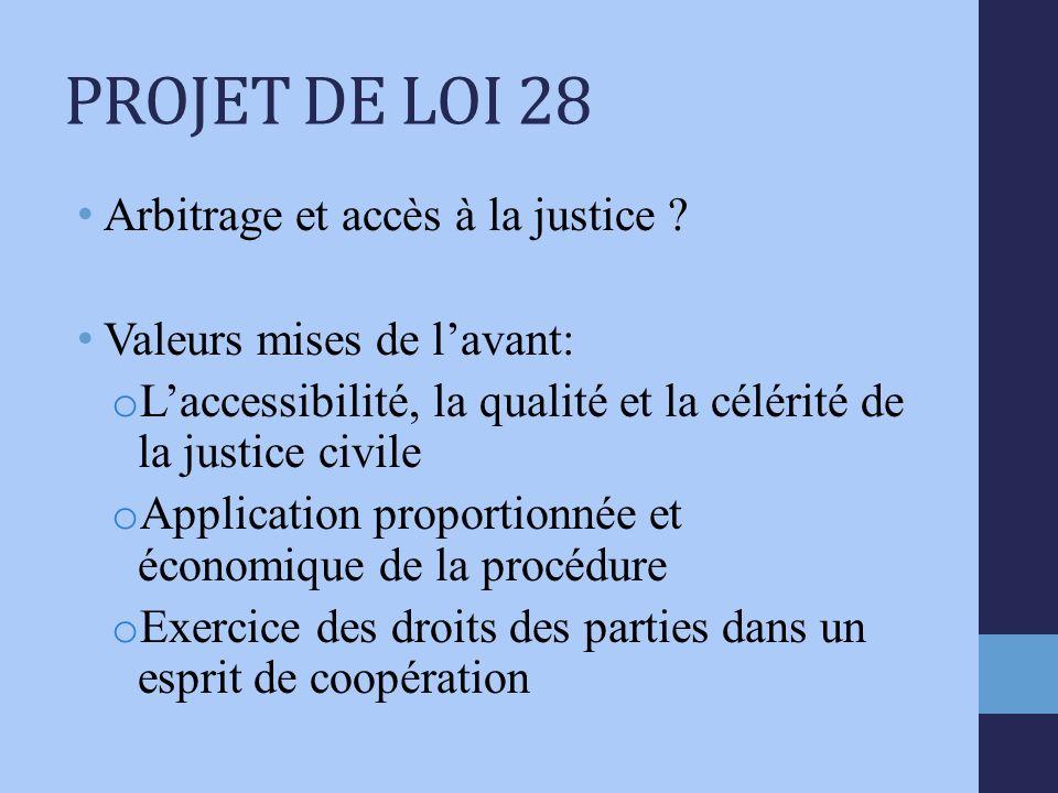 Arbitrage et accès à la justice .