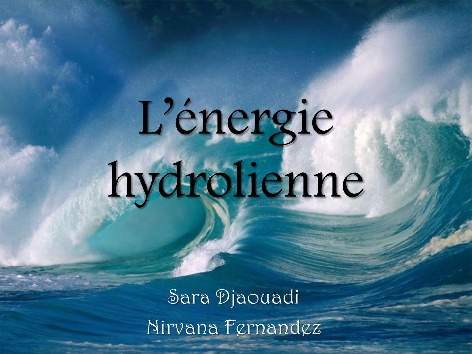 Lénergie hydrolienne Sara Djaouadi Nirvana Fernandez