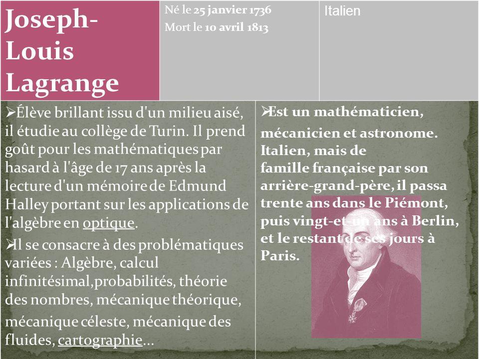 Eugène Rouché Né le 18 août 1832 Mort le 19 août 1910 Hérault VIE: Il est ancien élève de l'École polytechnique (1852). Il est professeur de mathémati