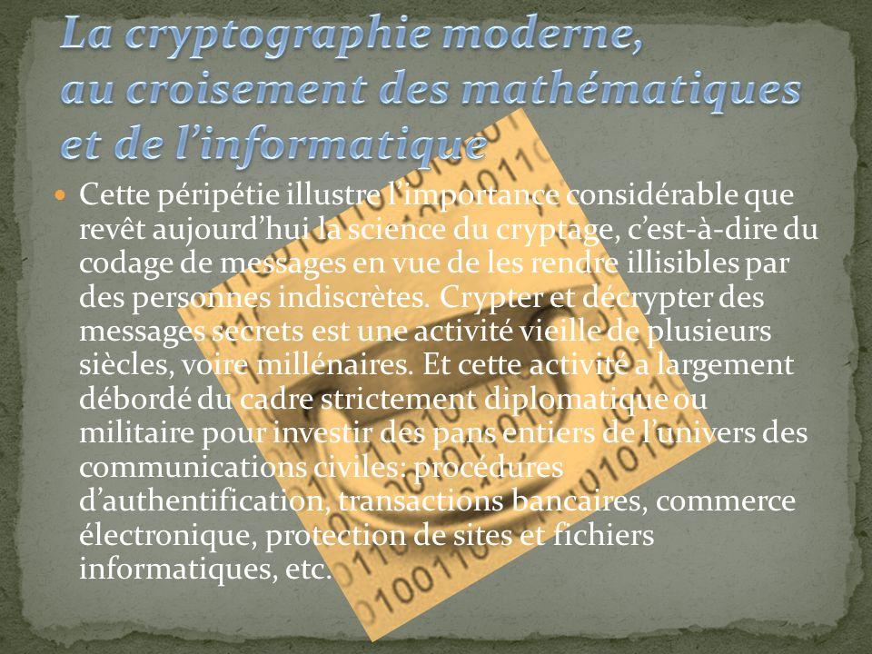En France, le secret des cartes à puce était protégé depuis 1985 grâce à une méthode de cryptage faisant intervenir un grand nombre N, constitué de 97