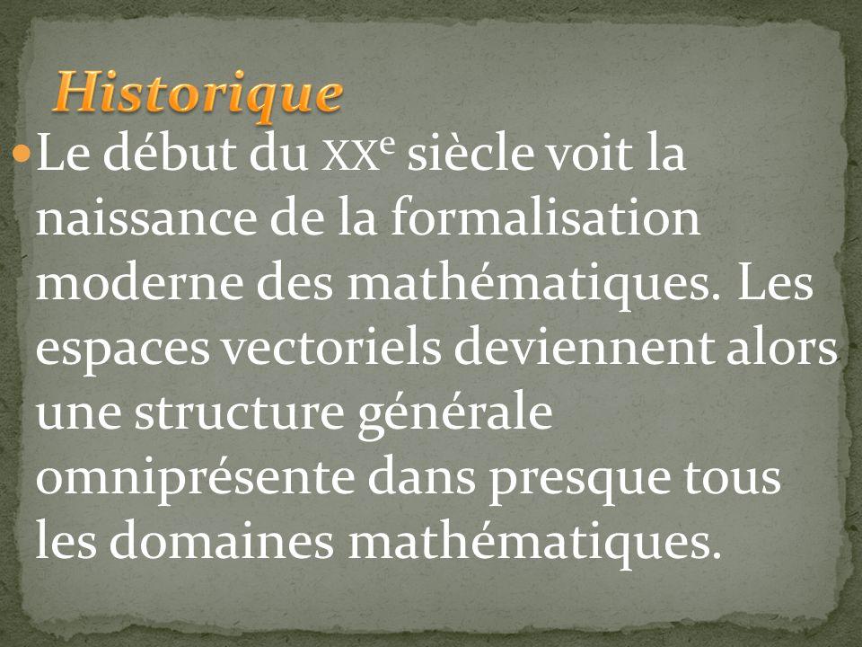 Au XIX e siècle l'algèbre linéaire devient une branche des mathématiques à part entière. Carl Friedrich Gauss trouve une méthode générique pour la rés