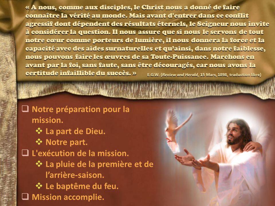 « A nous, comme aux disciples, le Christ nous a donné de faire connaître la vérité au monde.