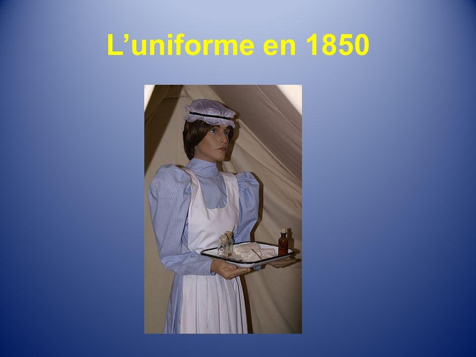 Luniforme en 1850