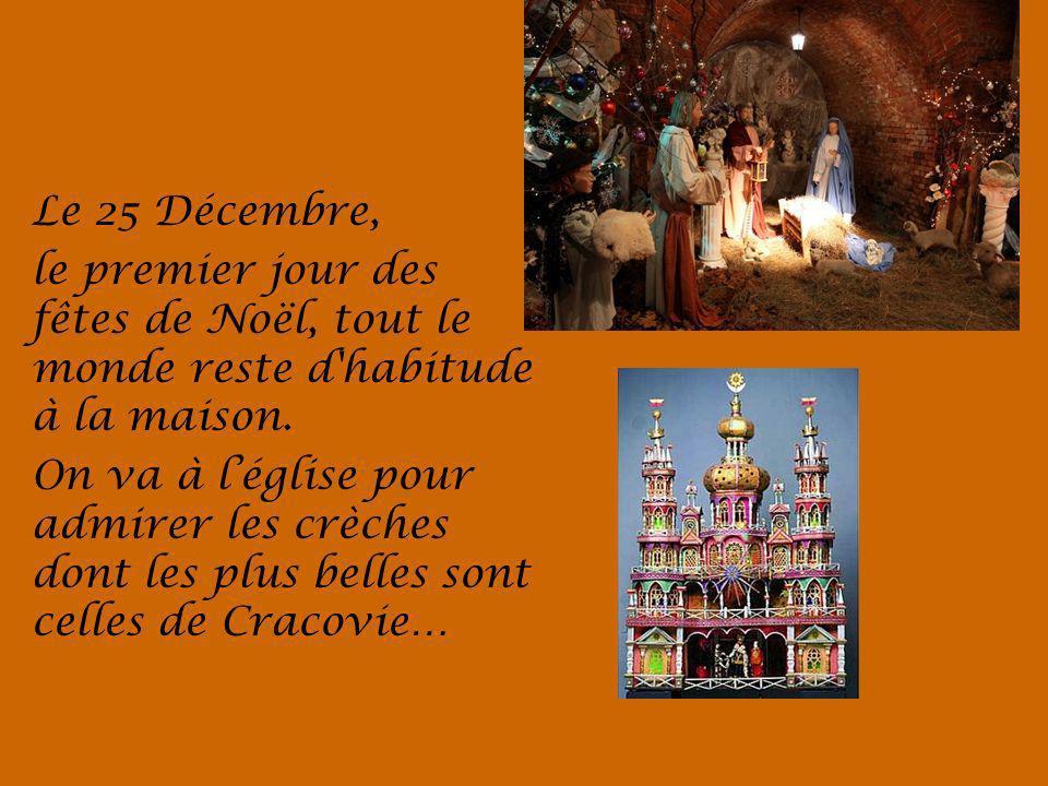 Le 25 Décembre, le premier jour des fêtes de Noël, tout le monde reste d habitude à la maison.