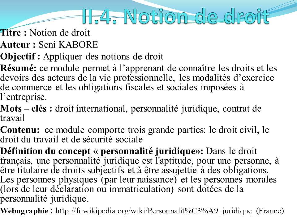 Titre: Administration commerciale Auteur : Jean Hilaire BATIEBO Objectifs: Appliquer des notions dAdministration commerciale Résumé: il sagit de dével
