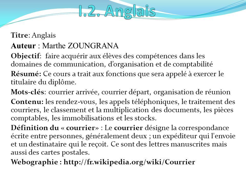 Titre: Français Auteur: Coulibaly Moussa Objectif: maîtriser les techniques dexpression de la langue française en général et en particulier les techni
