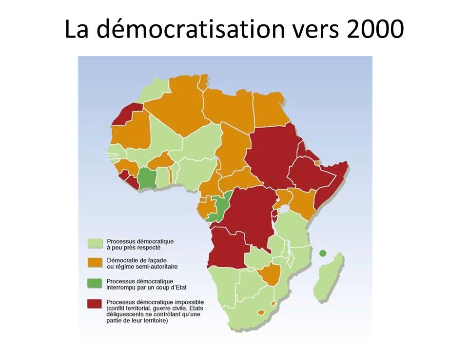 La démocratisation vers 2000